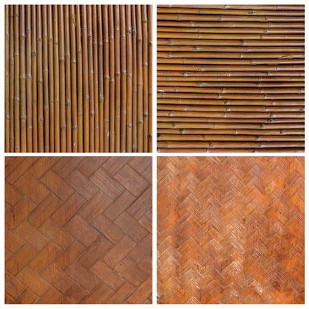 Inheemse Thaise stijl bamboe muur patroon van het bamboe mandenmakerij handgemaakte