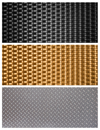 black metal weave texture background 版權商用圖片