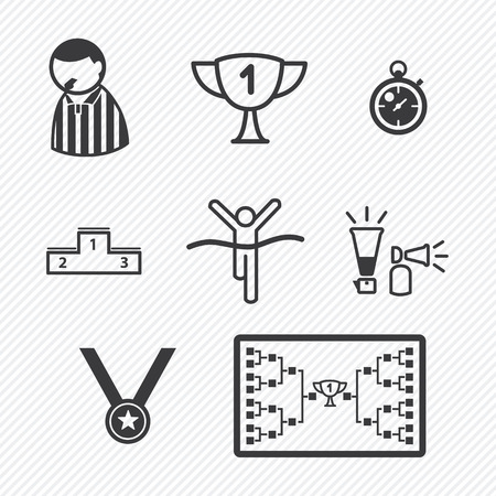Sport Tournament pictogrammen