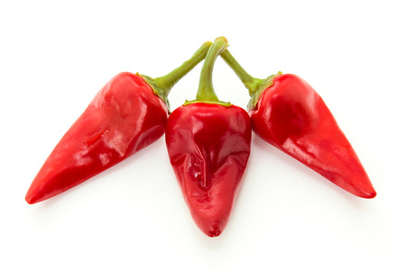 red chilli: Hot red chilli peppers