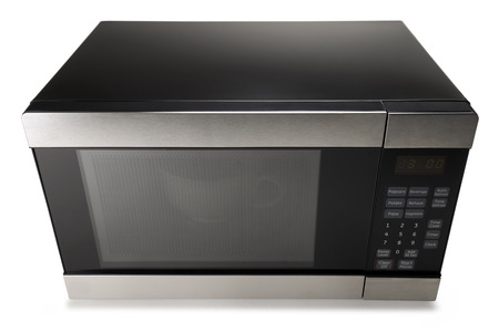 Microwave oven on a white background Imagens - 31453086