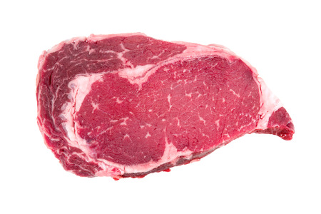 A piece of meat beef side photo