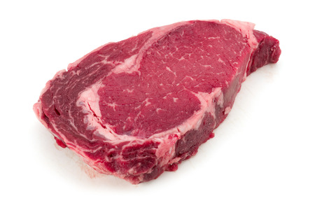 beef meat: A piece of meat beef side