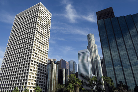Los Angeles downtown Stockfoto