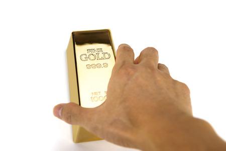goldbars: Gold bars and Financial concept, studio shots