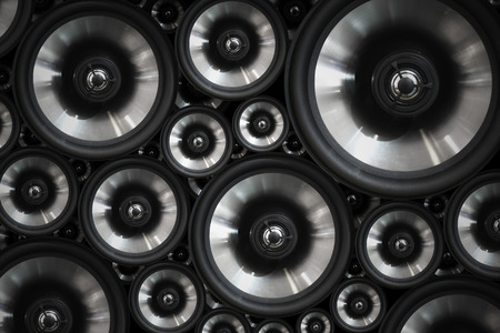 audio speaker: Hi fi audio stereo system sound speakers background