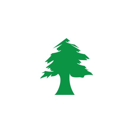 Pine Tree Logo Illustration Vektordesign