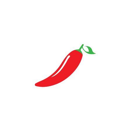 CHILI LOGO SZABLON SYMBOLI IKONA WEKTORA Logo