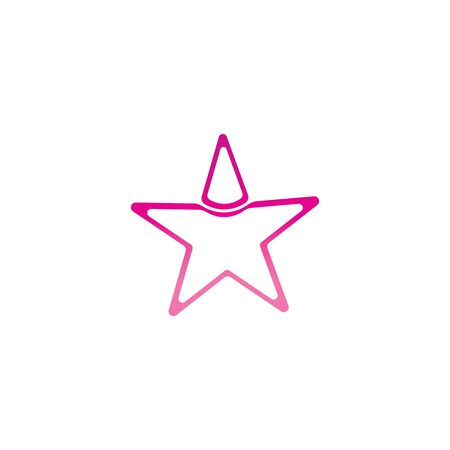 star succes people icon and symbols temlplate Illustration