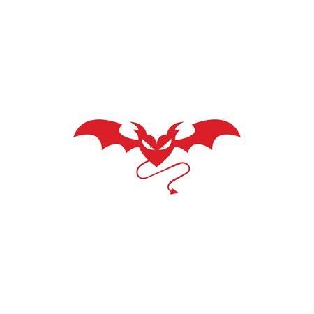 devil logo vector  template Archivio Fotografico - 134965531