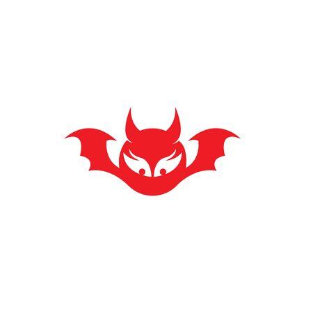 devil logo vector  template Archivio Fotografico - 134965624