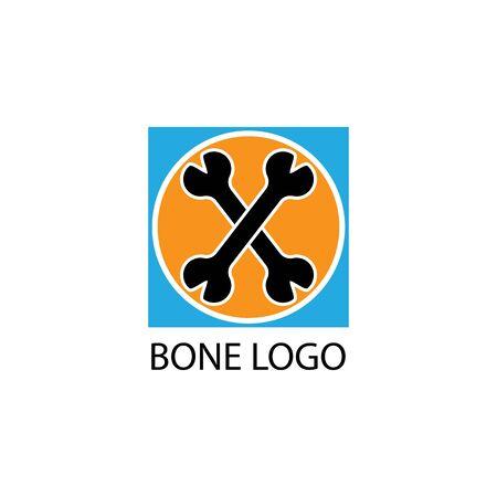 human skeleton icon and symbol vector illustration