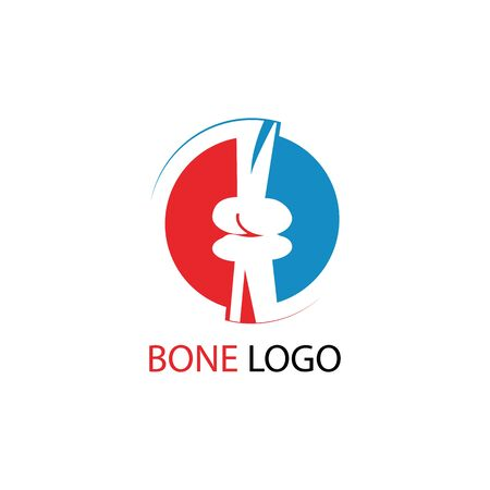 human skeleton icon and symbol vector illustration