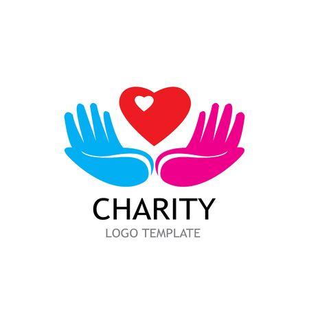 HANDPFLEGE LOGO VORLAGE VECTOR Logo