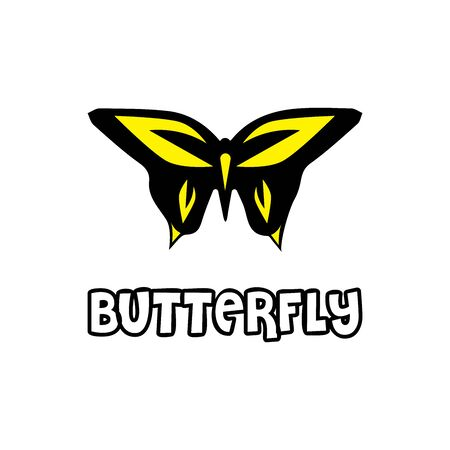 Beauty Butterfly Logo Template Vector icon design Archivio Fotografico - 138371718