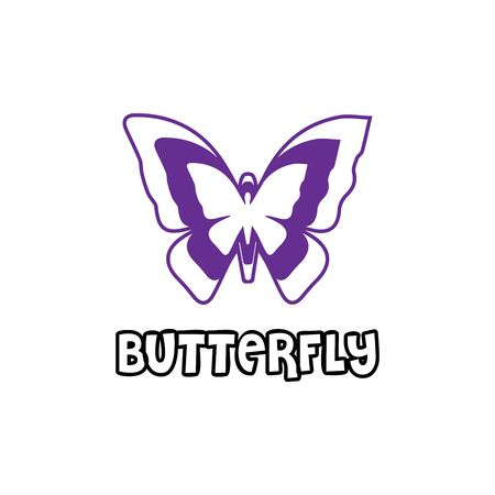 Beauty Butterfly Logo Template Vector icon design Archivio Fotografico - 138371720