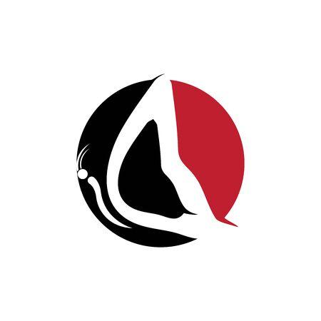 Beauty Butterfly Logo Template Vector icon design Archivio Fotografico - 138371729