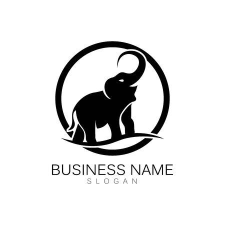 Elephant Logo Template Vector Illustration design