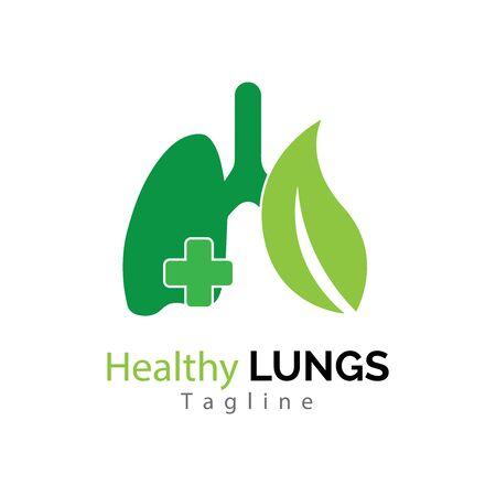 human lungs icon vector illustration design Stock Illustratie