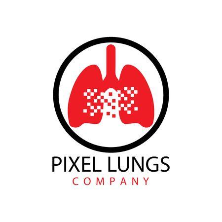 human lungs icon vector illustration design Ilustracja