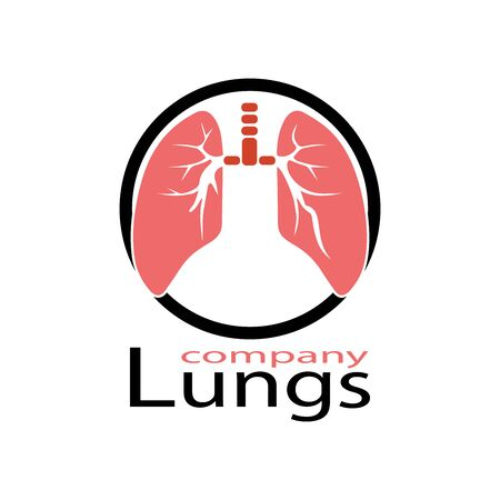 human lungs icon vector illustration design Ilustrace