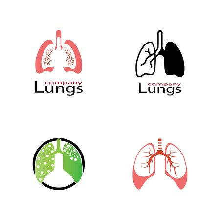 human lungs icon vector illustration design
