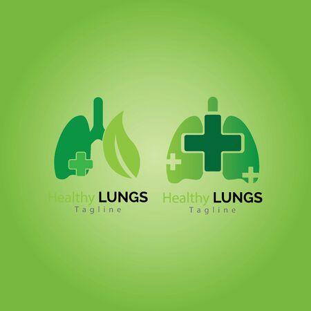 human lungs icon vector illustration design 向量圖像