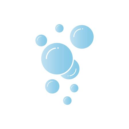 Bubble  icon vector illustration design template