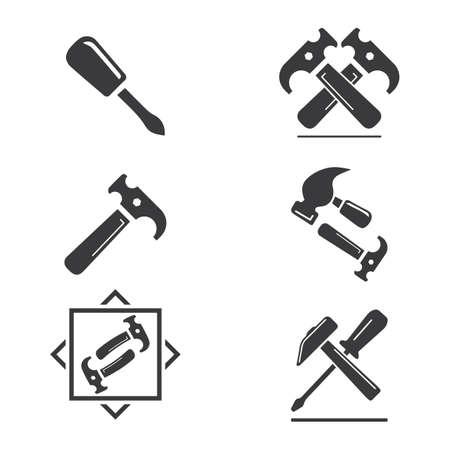 Service Tools vector icon illustration design template