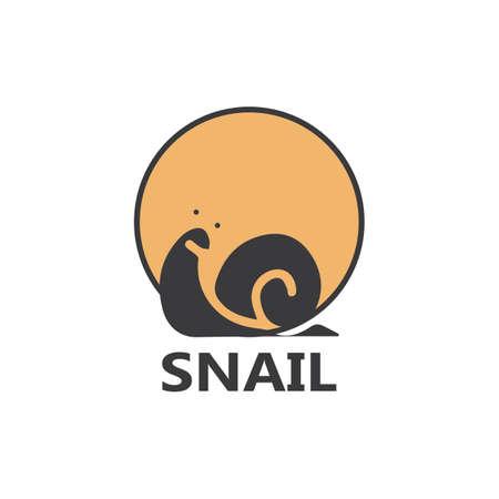 Snail  illustration vector template icon design 矢量图像