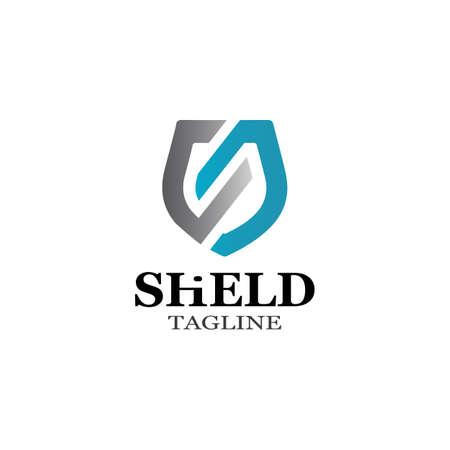 Shield Icon Vector illustration design Vetores