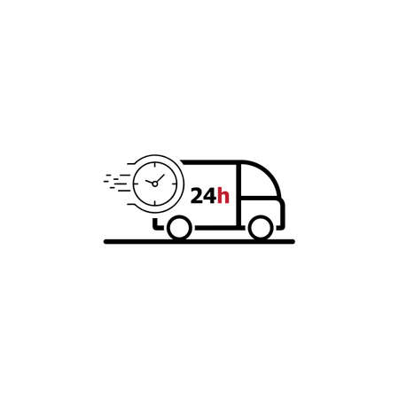 Shipping fast delivery  icon vector design template illustration