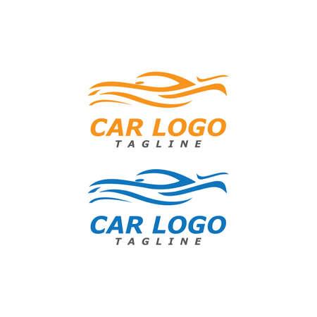 Auto car Logo Template vector illustration icon design Logo