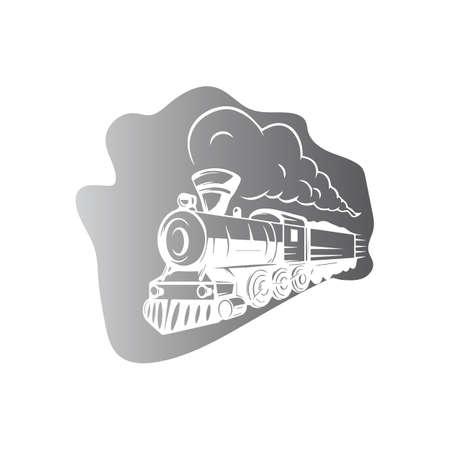 Train icon vector illustration design template