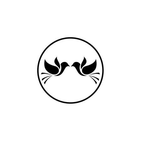 creative logo design Swallow bird logo vector template illustration 矢量图像