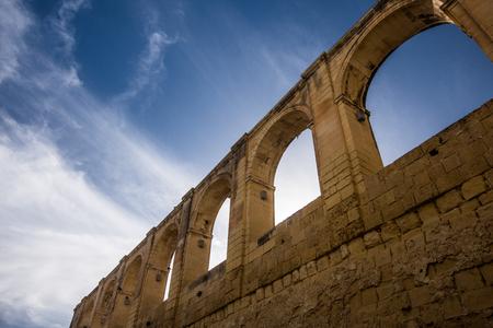 historic: Historic Valletta Stock Photo