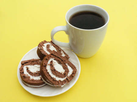 cokkie and coffee photo