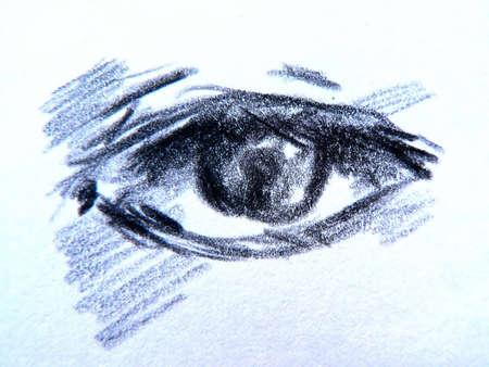 crazy hair: eyes