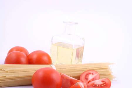 un healthy:  spaghetti Stock Photo