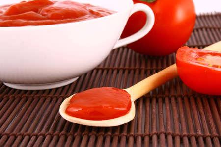 Food ingredients - tomato paste jar-red tomato
