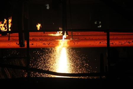 Cutting Steelshop Billet Producing