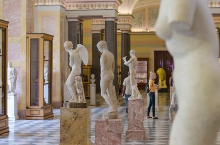 SAINT- PETERSBURG, RUSSIA - August 03, 2016: The Hermitage Museum. Hall Of Hercules