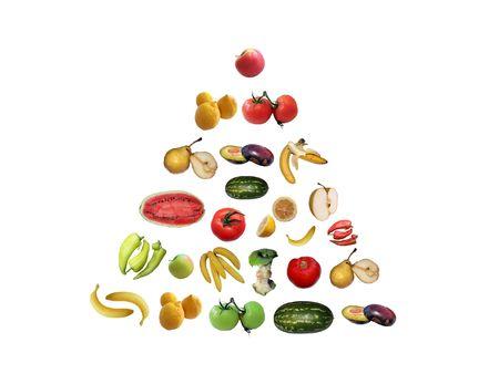 Piramida zdrowia Zdjęcie Seryjne - 546874