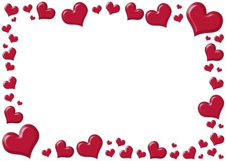 wedding heart: Heart frame.