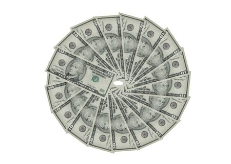 American currency. photo