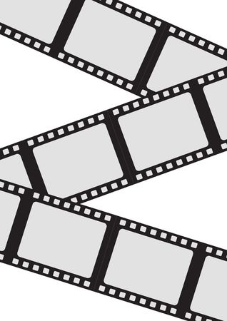 Film strip roll. Stock Photo - 729637