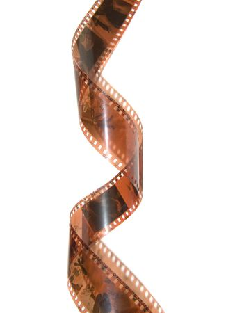 Film strip roll isolated. Stock Photo - 729636