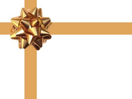 fiocco oro: Decorazione in oro bianco prua. Archivio Fotografico