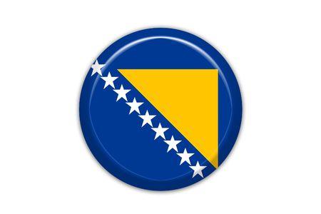 bosnian: Bosnia flag Stock Photo