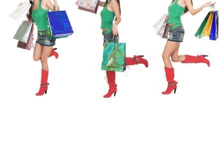 Shopping girl. Stock Photo - 1052442
